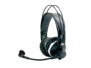 HEADPHONES WITH MICROPHONE AKG