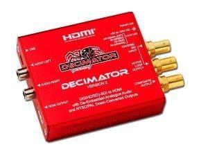 Mini Converter SDI/HDMI DECIMATOR v2