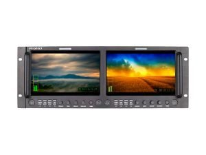 DISPLAY MONITOR DUAL 9 INCH RACK JVC PROHD DT-X92HX2