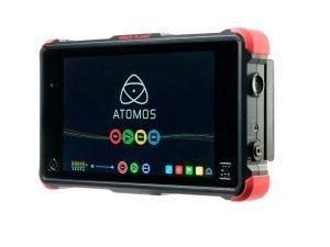 MONITOR RECORDER 7 INCH 4K ATOMOS NINJA FLAME WITH TRAVEL CASE