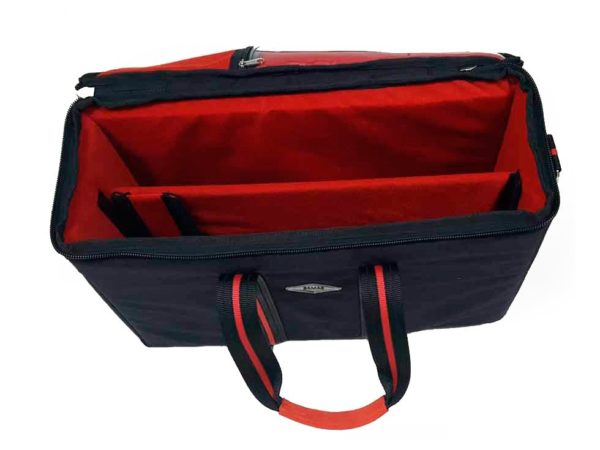 Lightweight carrying case for teleprompter iPad