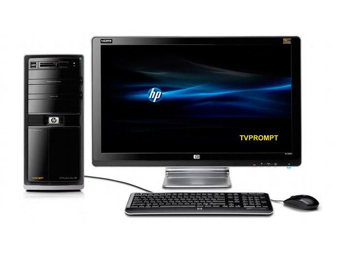 0f80b390e01d Ordenador de sobremesa / rack para teleprompter TVPROMPT HP1 ...