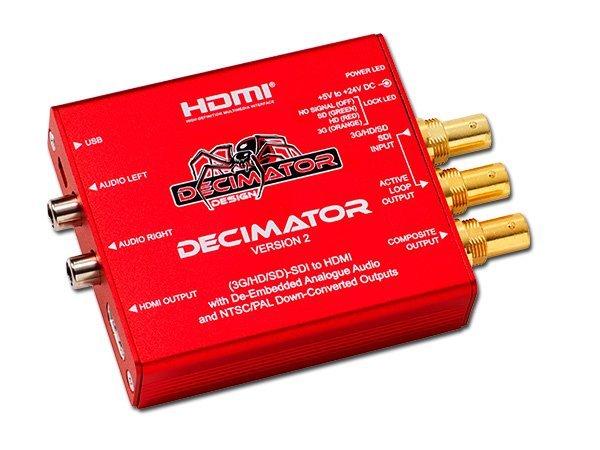 MINI CONVERSOR DECIMATOR v2 SDI/HDMI