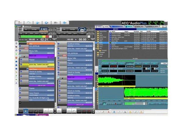 Sistema de Automatización de Radio AEQ AUDIOPLUS