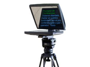 "TELEPROMPTER TVPROMPT 15"" LIGERO CON MIRROR"