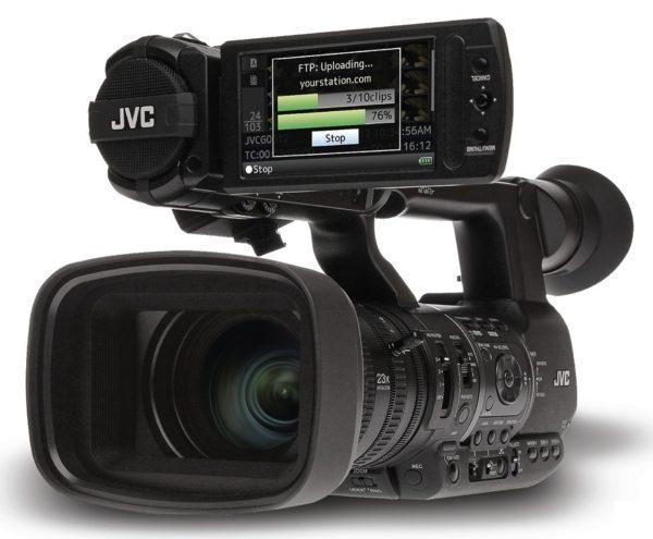 CAMARA JVC  GY-HM600