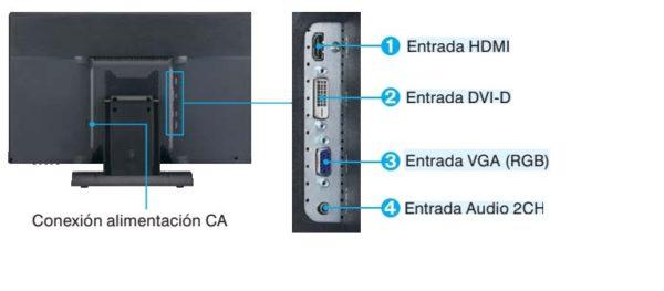 """JVC MONITOR 21.5"""" GD-W213L FULL HD"""