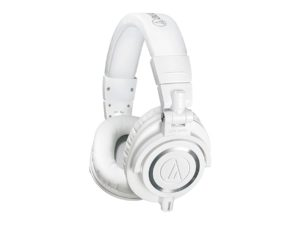 HEADPHONES AUDIO-TECHNICA M50X WHITE