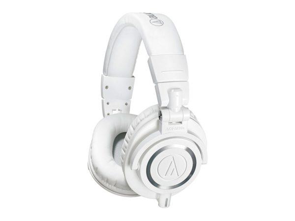 HEADPHONES AUDIO-TECHNICA M50X WHITE