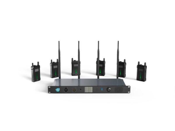 Intercom HOLLYLAND SYSCOM 1000T (con 6 petacas)